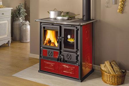 cuisinere thermique à bois